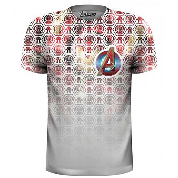 Marvel Comics : Avengers Icon Pattern Pocket Logo