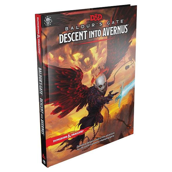 Dungeons & Dragons RPG Adventure Baldur's Gate: Descent Into Avernus