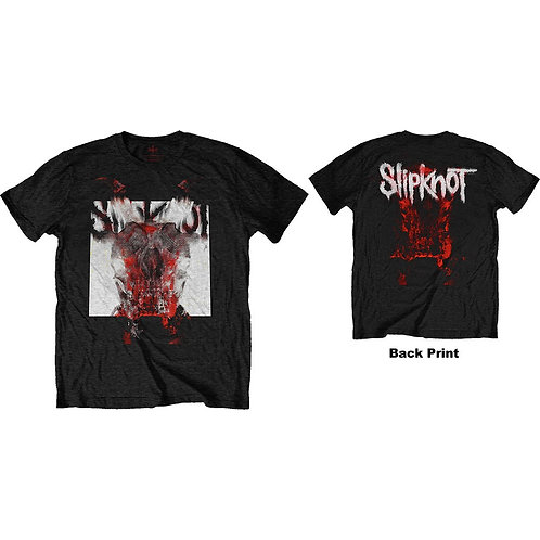 Slipknot, Devil Single - Logo Blur (Back Print)