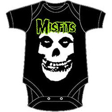 Misfits Kids Baby Grow: Skull & Logo