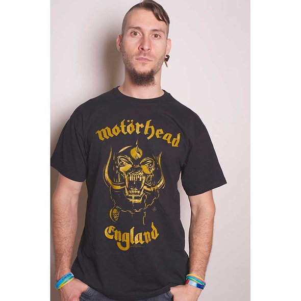 Motorhead, England Classic Gold