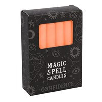 Orange 'Confidence' Spell Candles