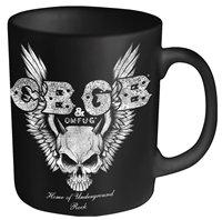 CBGB Skull Wings