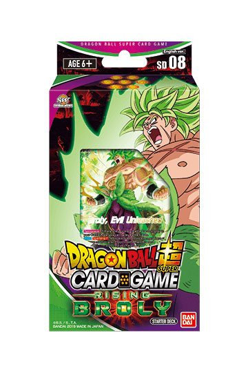 Dragonball Super Card Game Season 6 Starter Deck Rising Broly