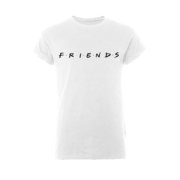 Friends Logo (Rolled Sleeve)