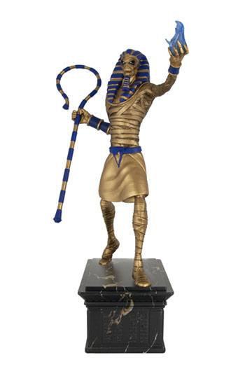 Iron Maiden Legacy of the Beast PVC Statue 1/10 Powerslave Eddie Golden Idol 30