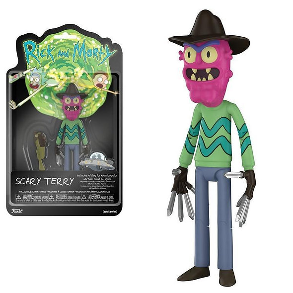 Rick & Morty Action Figure Scary Terry 13 cm