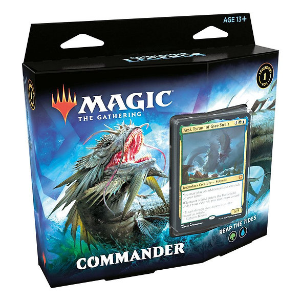 Commander Legends Commander Decks, Reap The Tides