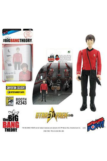 Big Bang Theory (The) Action Figures with Diorama Set Howard TOS EE Exclusive