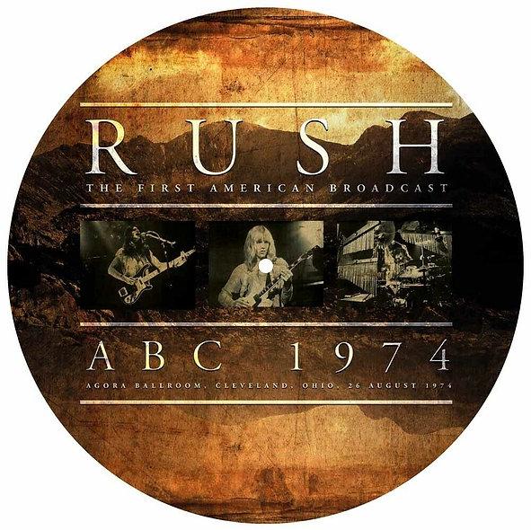 "Rush, ABC 1974 (12"" Picture Disc)"