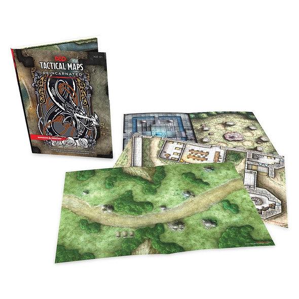 Dungeons & Dragons RPG Tactical Maps Reincarnated (English)