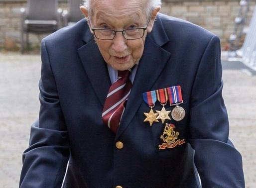 Captain Tom Moore's 100th Birthday!