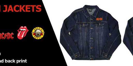 Available for pre-order : Denim Jackets!