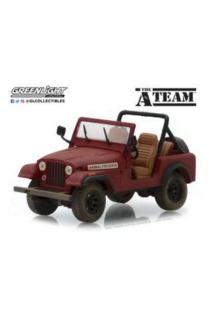 A-Team Diecast Model 1/43 Jeep CJ-7