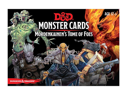 Dungeons & Dragons Monster Cards: Mordenkainen's Tome of Foes