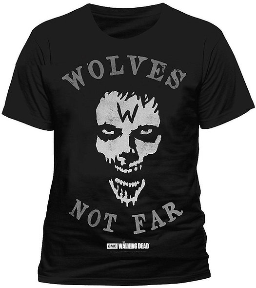 Walking Dead Wolves Not Far