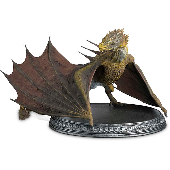 Game Of Thrones, Viserion Dragon Model
