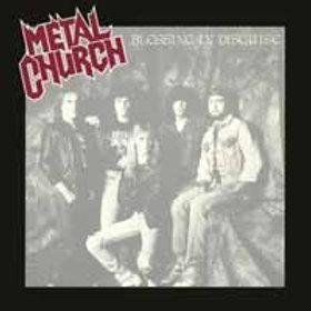 Metal Church, Blessing In Disguise (Ltd Ed Silver Vinyl 180 Gram Audiophile Viny