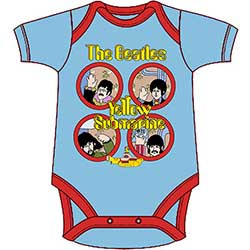 The Beatles Kids Baby Grow: Yellow Submarine Portholes