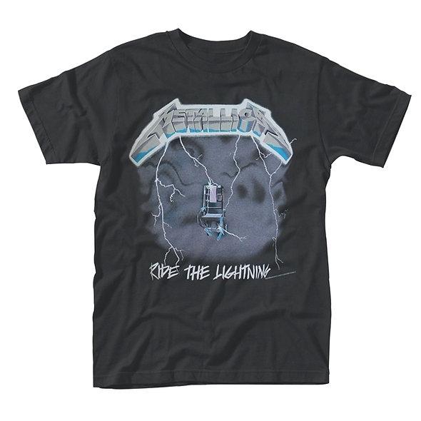 Metallica, Ride The Lightening (Black w/ Back Print)
