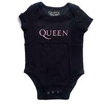 Queen Kids Baby Grow: Pink Logo