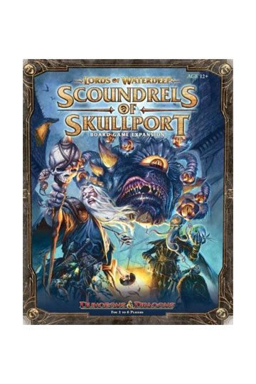 Dungeons & Dragons Board Game Expansion Lords of Waterdeep: Scoundrels of Skullp