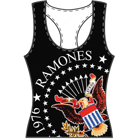 Ramones 40th Seal Lady Vest