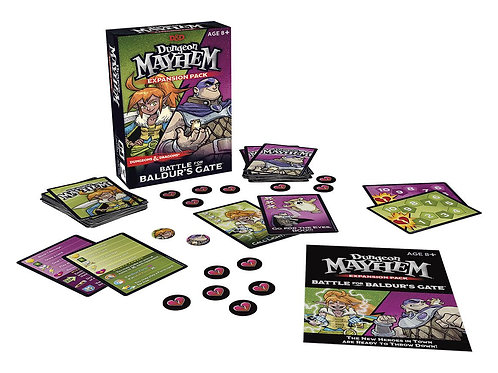 Dungeons & Dragons Card Game Expansion Dugeon Mayhem : Battle for Baldur's Gate