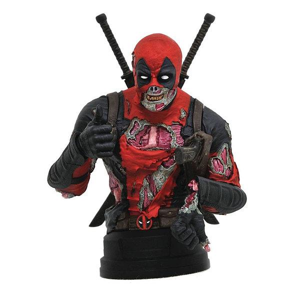 Marvel Bust 1/6 Deadpool Zombie SDCC 2020 15 cm
