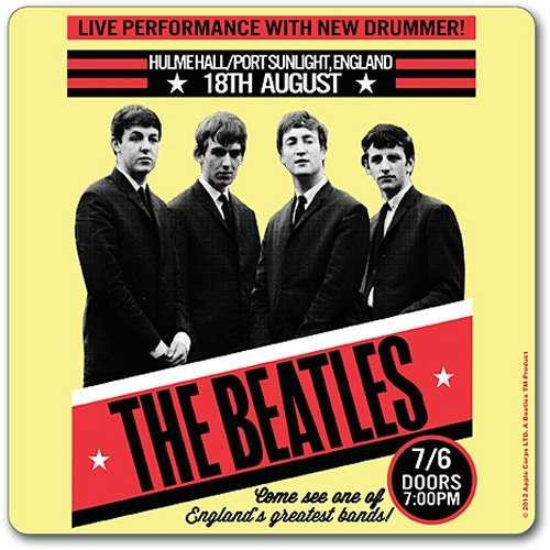 Beatles (The), 1962 Port Sunlight