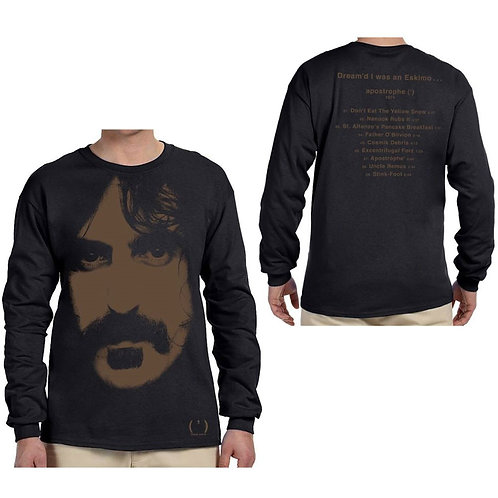 Frank Zappa, Apostrophe (Long Sleeve with Back Print)