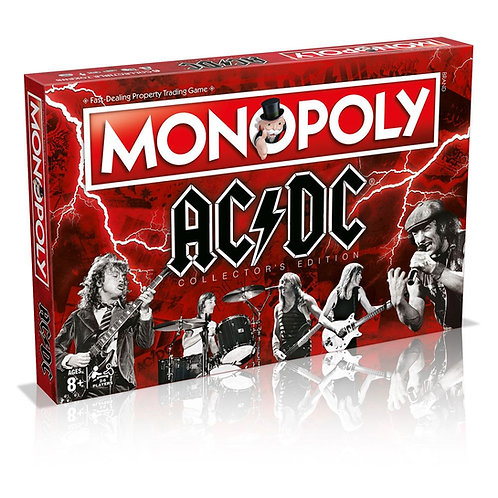 AC/DC Board Game Monopoly