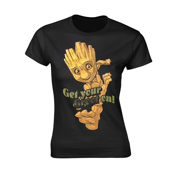 Marvel Guardians Of The Galaxy 2, Get Your Groot On! (Girlie Fit)