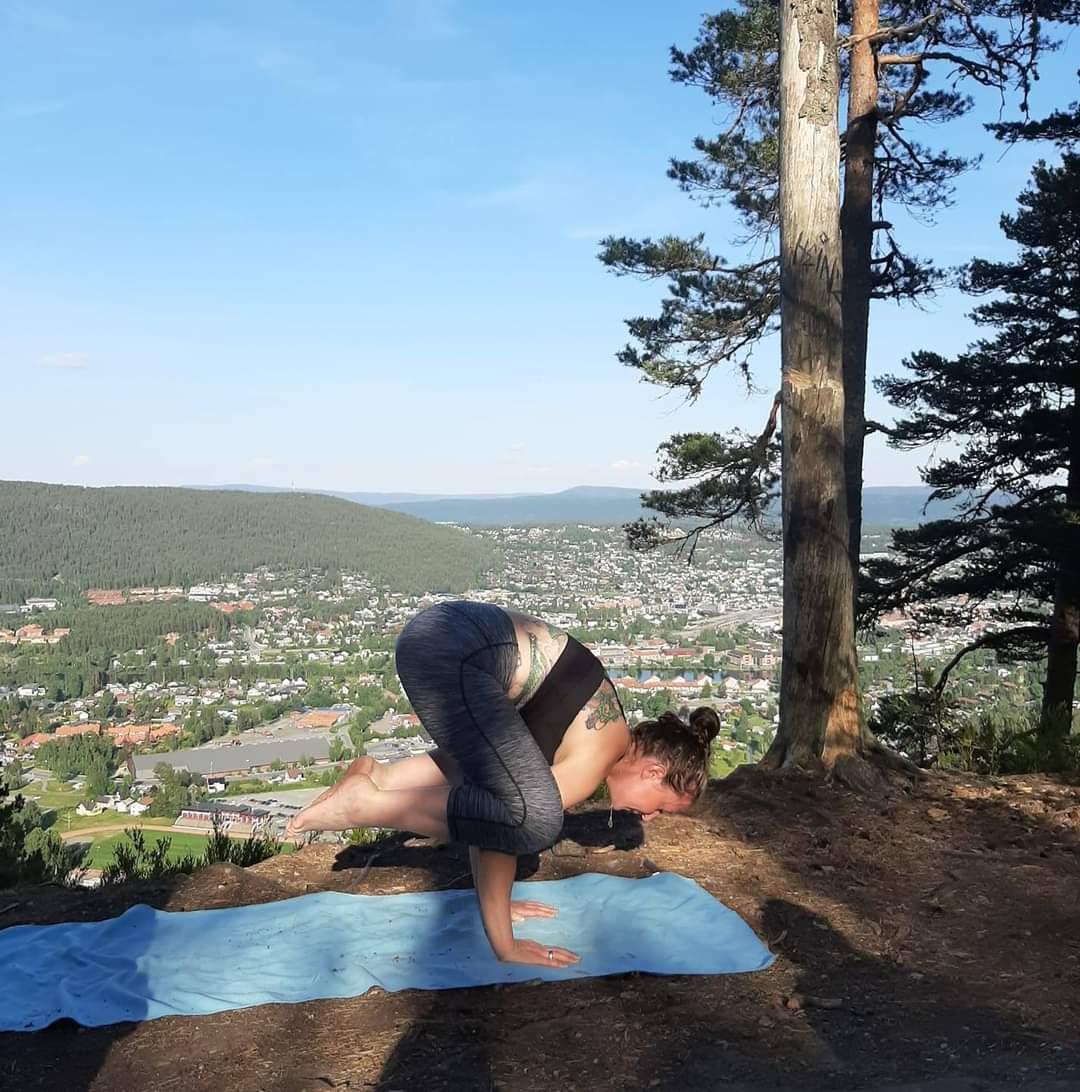 utendørs yoga