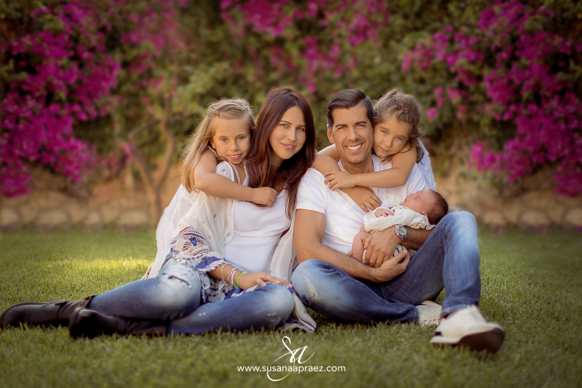 Susana Apraez, Fotos familia