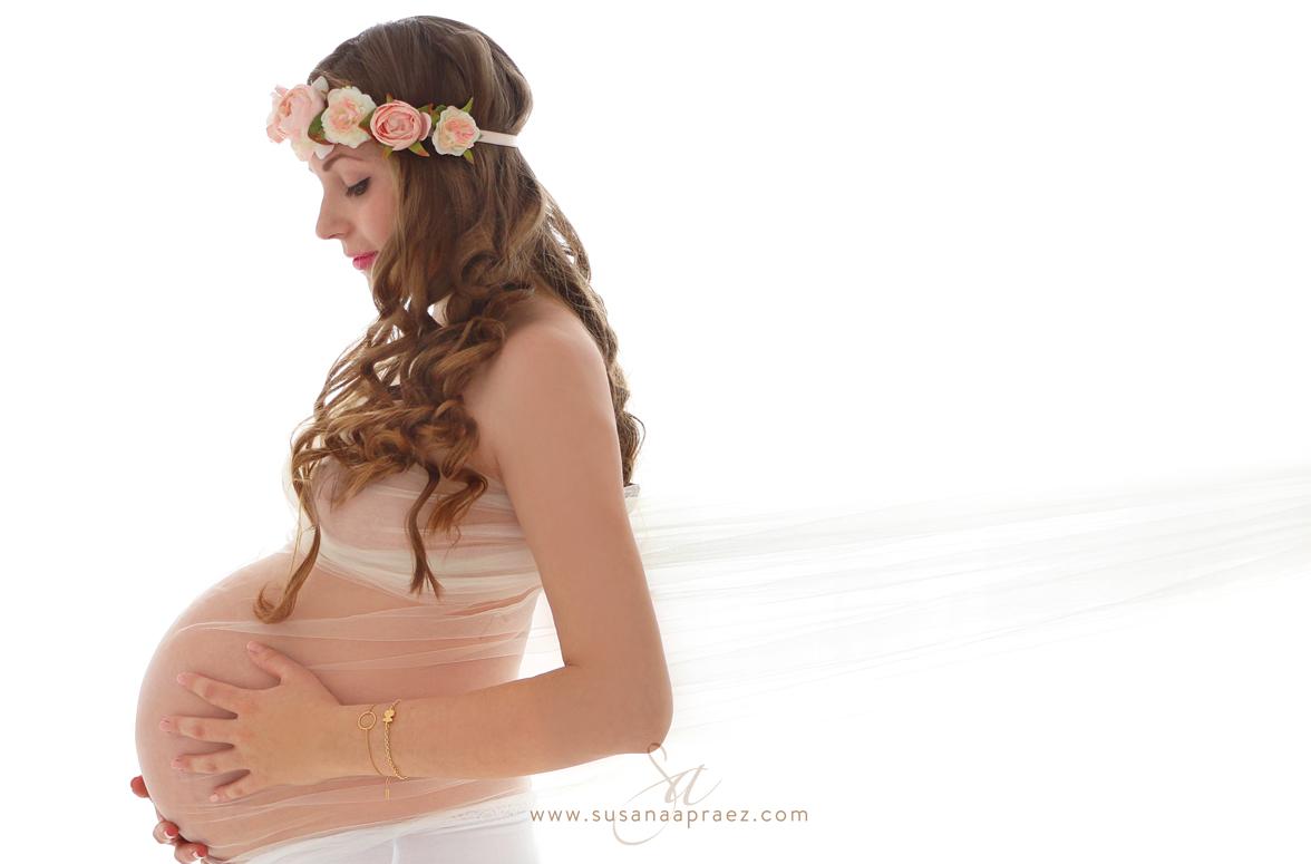 Susana Apraez, Fotos embarazadas