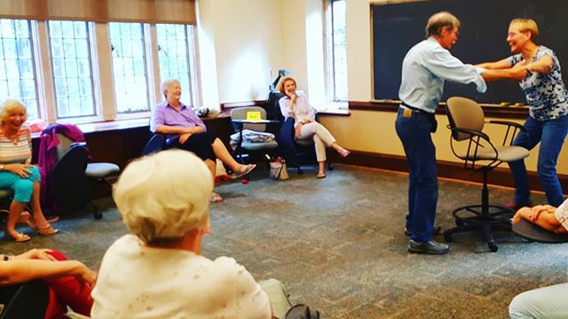 COMEDY CONNECTS: Improv at University of Richmond's Osher Institute