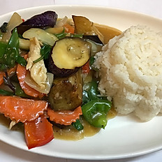 Thai Chicken Eggplant