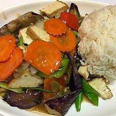 Thai Tofu Eggplant