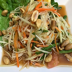 Som Tom (papaya salad)