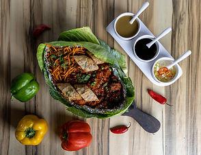 Chinese food and sizzler at Dosa House, Jamnagar