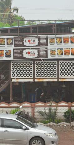 Full View of Dosa House Jamnagar, Green City Branch
