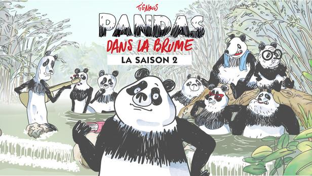 Pandas dans la brume S2