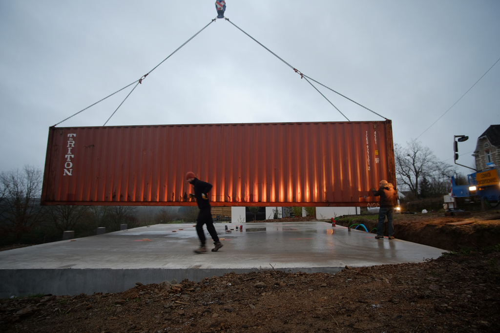Maison Containers Living In The Steel