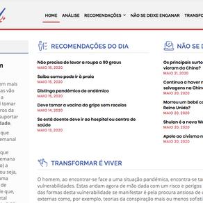 CovidCheck: o portal que combate a desinformação