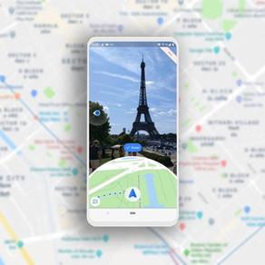 Como usar a realidade aumentada para navegar com o Google Maps