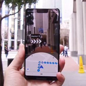 Google Maps introduz navegação com auxílio de realidade aumentada