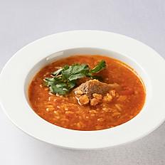 Суп Харчо с острым лечо