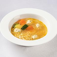 Куриный суп с фапфале