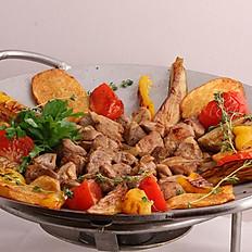 Садж-кебаб из телятины